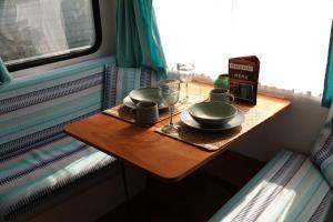 Eetgedeelte in de bed & breakfast