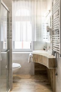 Łazienka w obiekcie Hotel Cis