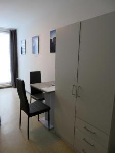 TV/Unterhaltungsangebot in der Unterkunft Ferienwohnung Trier Zentrum, Studio, Apartment, ruhig gelegen