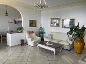 Area soggiorno di Villa Giò - PositanoHouse
