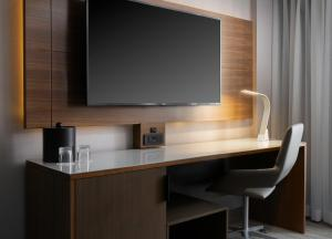 A television and/or entertainment center at Costa Mesa Marriott
