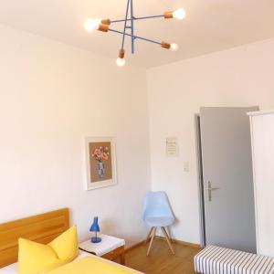 Ein Sitzbereich in der Unterkunft Pension Stoi budget guesthouse