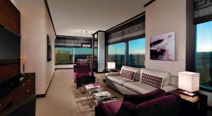 A seating area at Vdara Hotel & Spa at ARIA Las Vegas
