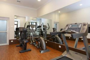 The fitness center and/or fitness facilities at Hotel Shanker