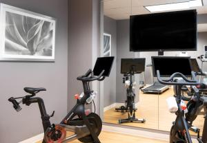 The fitness center and/or fitness facilities at The Churchill Hotel Near Embassy Row