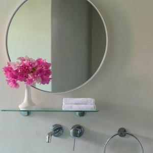 A bathroom at Xenones Filotera