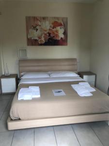 Letto o letti in una camera di Zia Bi Bed and Breakfast