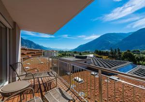 Balcon ou terrasse dans l'établissement Hotel Farinet