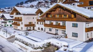 Hotel Vernel during the winter