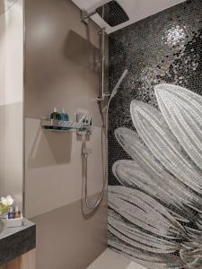 Un baño de Boutique Hotel Wellenberg