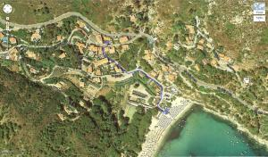 A bird's-eye view of Hotel Lo Scirocco