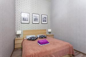 Кровать или кровати в номере Standard Brusnika Arbat
