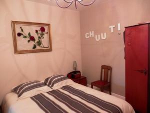 Un ou plusieurs lits dans un hébergement de l'établissement Gîte Serreslous-et-Arribans, 4 pièces, 6 personnes - FR-1-360-77