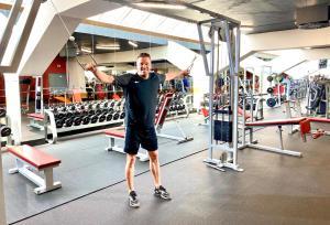 Fitness centrum a/nebo fitness zařízení v ubytování Cosmopolitan Bobycentrum - Czech Leading Hotels