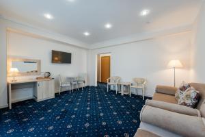 Гостиная зона в Отель Бригантина