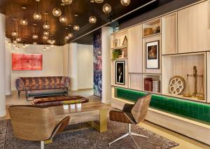 A seating area at The Westminster London, Curio Collection by Hilton