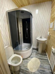 Ванная комната в Гостиный Двор Ольхонский