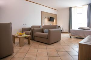 Area soggiorno di Pegasus Hotel