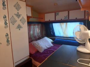 Letto o letti in una camera di Camping Argostoli