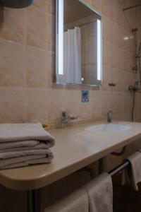 Ванная комната в Отель Астория