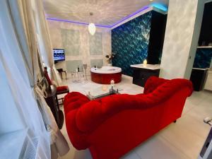 Część wypoczynkowa w obiekcie Sopot Spa Apartment