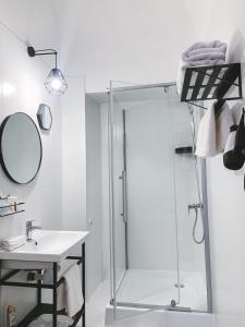 Ванная комната в Boutique Hotel Khovansky