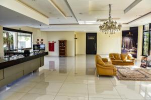 O saguão ou recepção de Hd Park Hotel