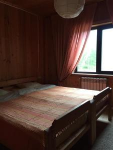 Кровать или кровати в номере Гостевой дом в Нурмойле