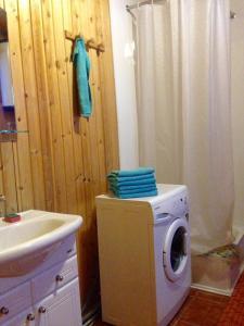 Ванная комната в Гостевой дом в Нурмойле