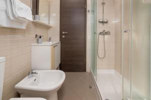 A bathroom at Apartment Deny