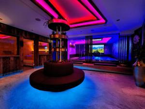 The lobby or reception area at Hotel Lärchenhof