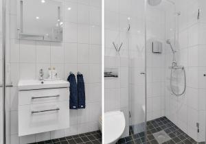 A bathroom at Venngarn 304
