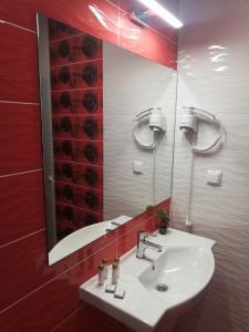 A bathroom at Hotel Vanilla, Varna - Хотел Ванила, Варна