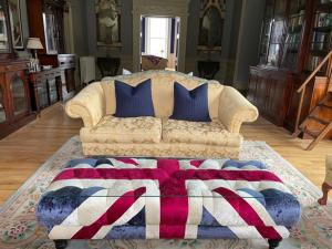 A bed or beds in a room at Duncraig Castle Bed and Breakfast