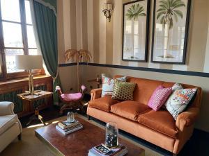 Гостиная зона в Hotel Hermitage