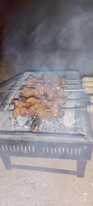 BBQ facilities available to guests at the luxury tent