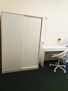 A bathroom at Nina's Place Sydney