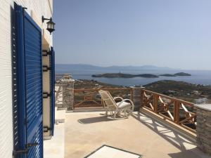 A balcony or terrace at Syros Luxury Living