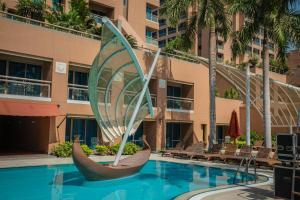 The swimming pool at or near Intercontinental Cairo Citystars, an IHG Hotel