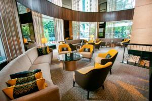 The lounge or bar area at Perdana Kuala Lumpur City Centre