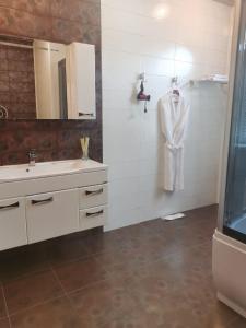 Ванная комната в Hotel European