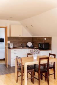 A kitchen or kitchenette at Ana Antloga Apartments