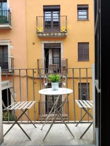 A balcony or terrace at Apartment Histórico