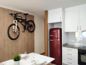 A kitchen or kitchenette at Apartment Histórico