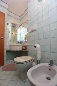 A bathroom at A Casa di Marta