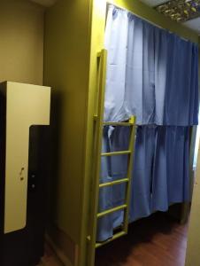 Кровать или кровати в номере Хостел Люблино