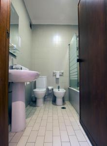 Un baño de Riabela Inn