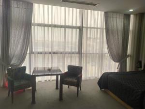 Uma área de estar em Secret Hotel Baku