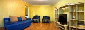 A seating area at City Living Apartments Constanta