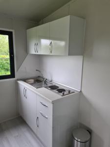 A kitchen or kitchenette at B&B de Niers